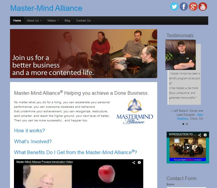 Master Minds Alliance Project