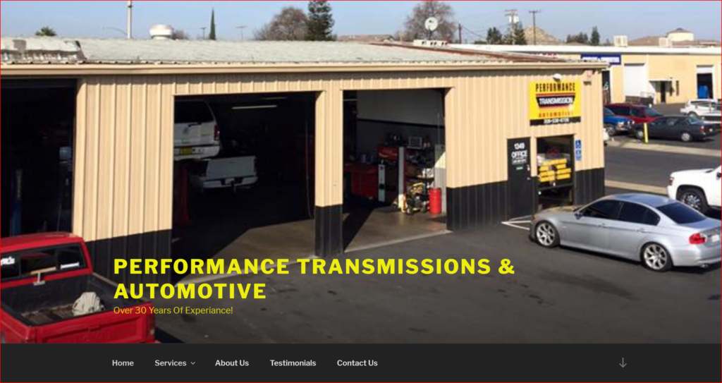 Local Transmission Shop in Modesto Ca